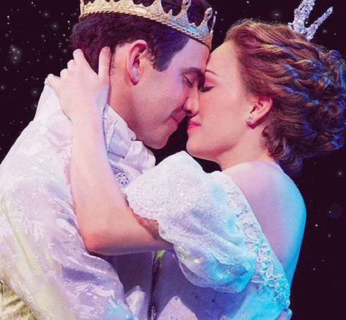 Cinderella on Broadway || I'm sorry, but Santino's nose looks so weird in this picture.