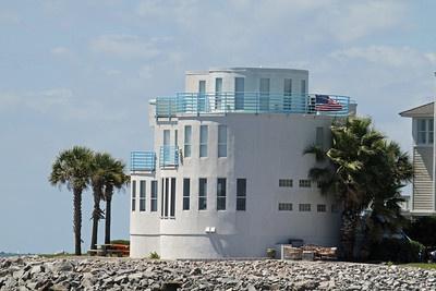 Hurricane Proof House  - Sullivans Island, SC - Ocean Front house - survived Hurricane Hugo 1989 with no damage.