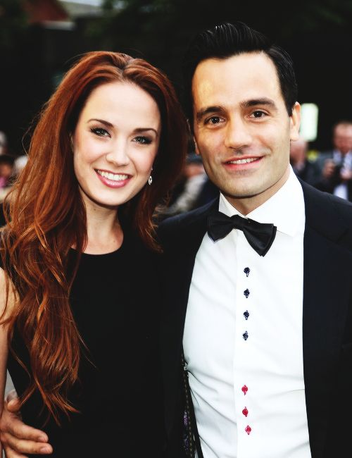 Ramin Karimloo and Sierra Boggess... two of my favorite Broadway singers!!!! I need to meet then in real life