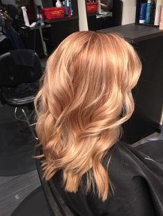 Bildergebnis für erdbeerblondes Haar mit blonden Highlights – hair