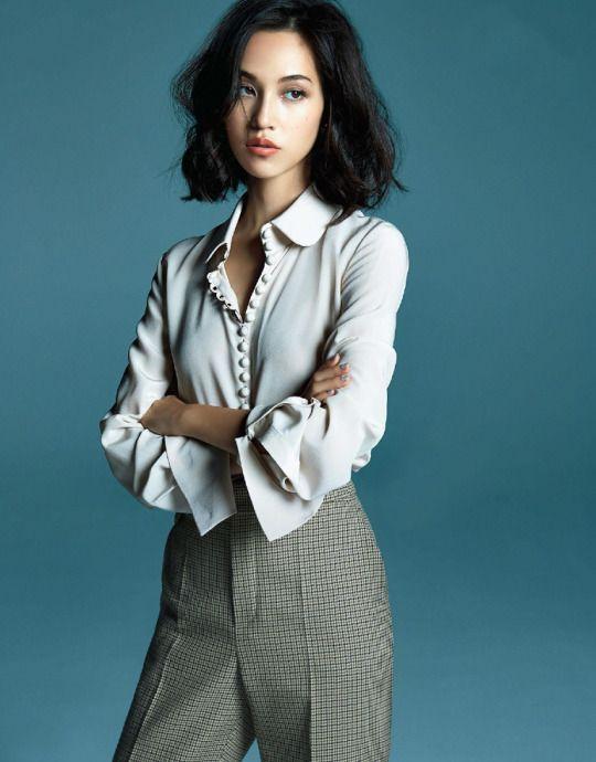 Kiko Mizuhara wearing Chloe for 25ans Magazine September 2015