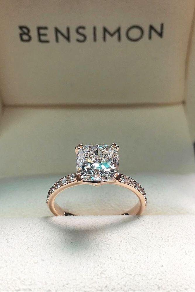 69 anéis de noivado mais populares e modernos para mulheres   – Rings