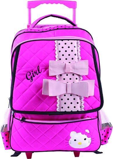 tas anak permpuan sekolah gendong trolly cantik