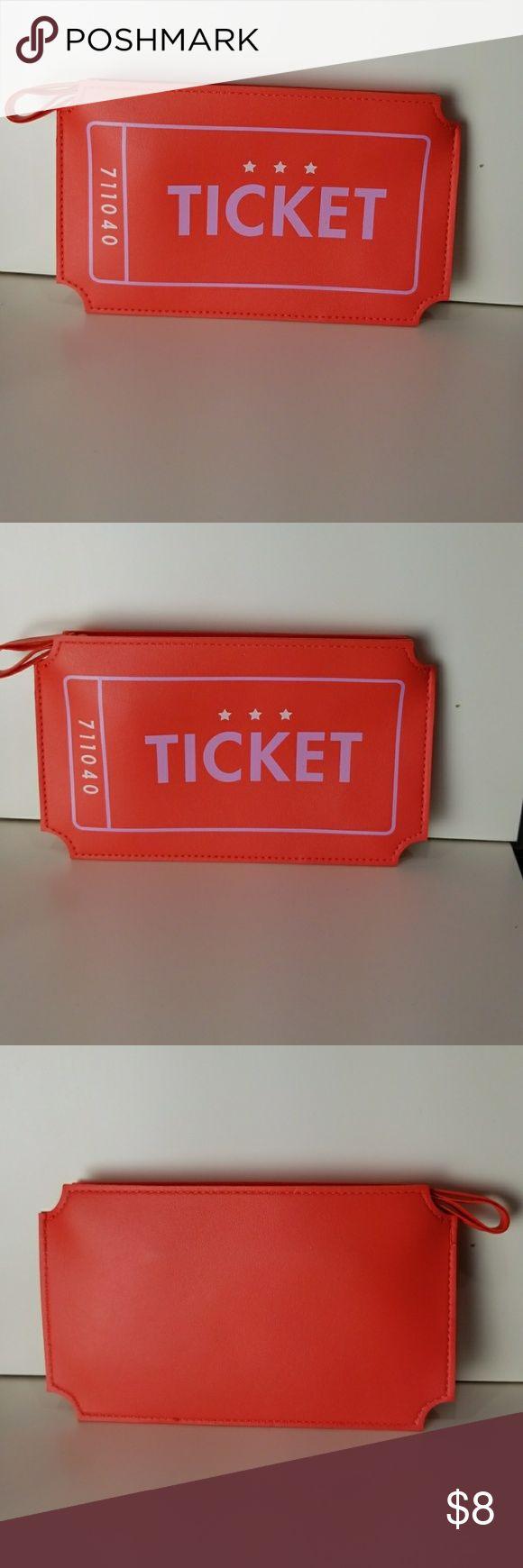 Makeup bag Ticket stub makeup bag ipsy Bags Cosmetic Bags & Cases