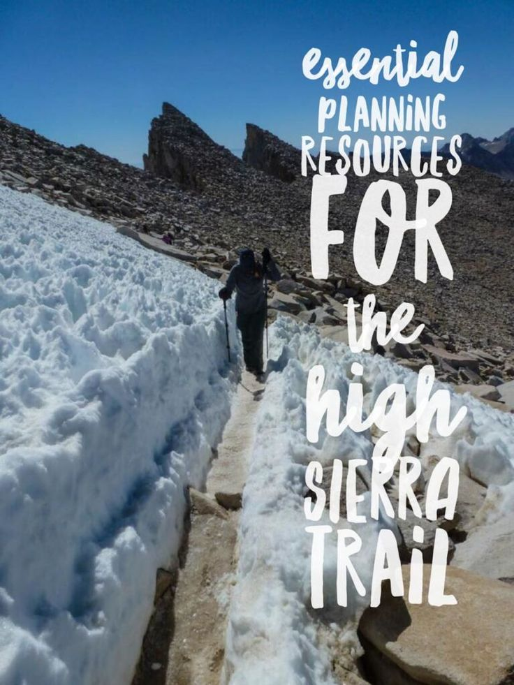Essential Planning Resources for the High Sierra Trail http://socalhiker.net/essential-planning-resources-for-the-high-sierra-trail/?utm_campaign=coschedule&utm_source=pinterest&utm_medium=SoCal%20Hiker&utm_content=Essential%20Planning%20Resources%20for%20the%20High%20Sierra%20Trail