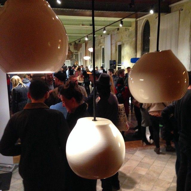 """@ryanpenningsdesign's photo: """"Slight pendants at Fringe Furniture opening! #fringefurniture #fringe #melbournefringe #lightingdesign"""""""