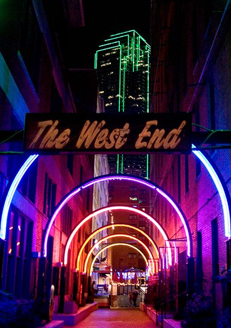 West End, Dallas- back in the day- free chips and drinks!! Oh when Dallas was young!!
