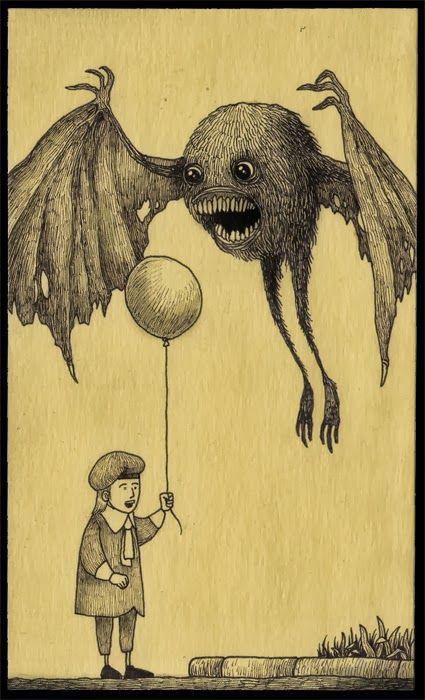 Juxtapoz Magazine-John Kenn's Monster...》》Click to enlarge image john386.jpg...Neat Monsters!