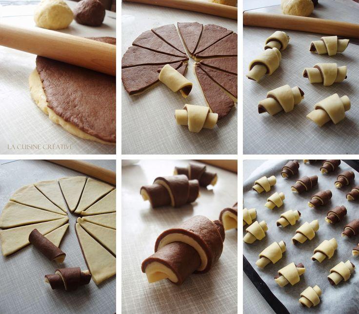 La cuisine creative: Slatke šarene kiflice