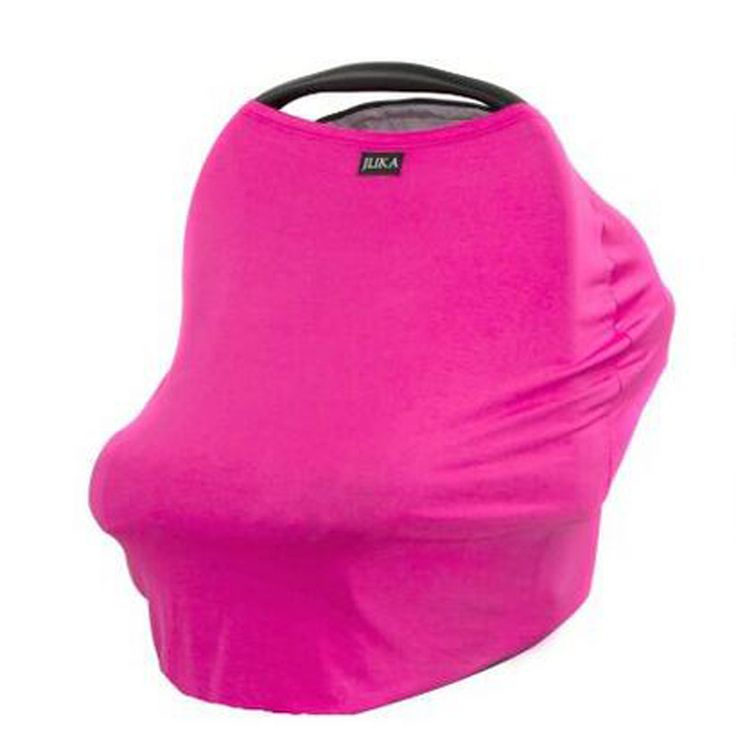 Baby Car Seat Cover Nursing Breastfeeding Carseat Canopy Multi Use Stretchy