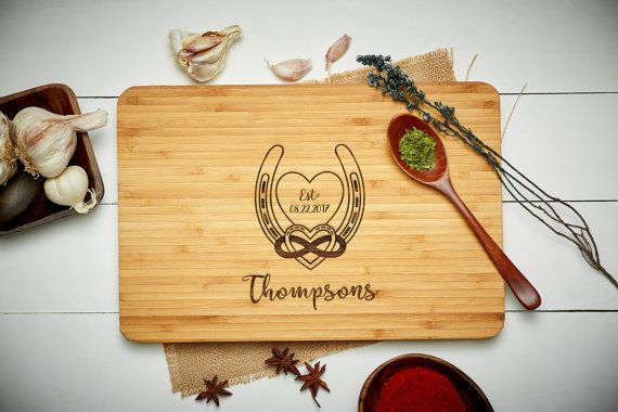 [Limited Time PROMOTION]  Add this item to your favorites or Heart this item and receive a FREE CUTTING BOARD STAND with your purchase. PROMOTION ENDS SOON! ♥ Product Specifications ♥ ------------------------------------- - Have ANY wording you want engraved at NO additional cost - Bamboo Cutting Board - Product Dimension: W12 x H8 or W18 x H12 - Sanitary and Coded with Food Grade Safe Oil - Made in the USA - Over 40 Fonts to choose from - Processing Time: 1-2 Business Days   ♥♥♥ H O W - T…