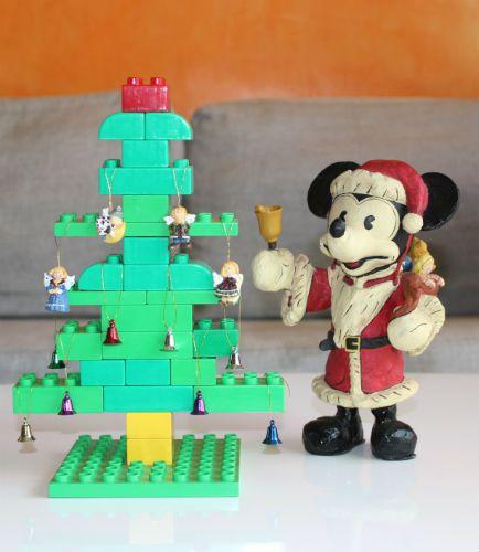 Конструируем из Лего к Новому году