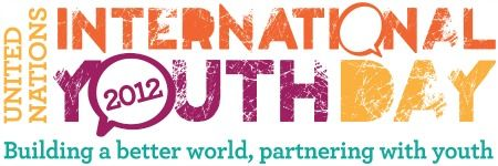 Build a better world by partnering with you!International Youth Day is Sunday (12 August).  Google+ Hangouts were held this week to find out what is important to young people. The themes were:  Political Inclusion  Education  Entrepreneurship  Citizenship  Employment  Education on Sexual and Reproductive Health  Young people are also invited to share their opinions in an online survey.  For updates all year, see:@un4youthandFacebook.