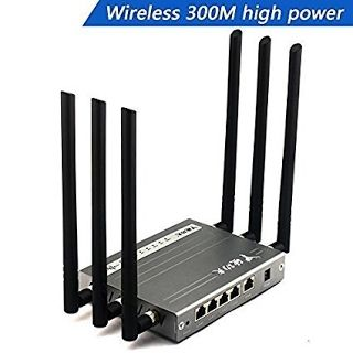 "!""REVIEW"" Wireless Wi-Fi Router , jomoq High Power Megabit Router with 6x6dBi Antennas, Super Strong Signal apply to Hotels, Villas, Restaurant and other Large Area, Metal Computer Router (black) #Wireless #Router *** To view further for this item, visit the image link."