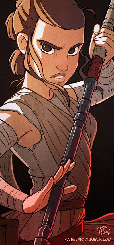 Rey by Kaisel on DeviantArt
