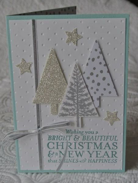 Festival of Trees by Debbie Speijers Qld Australia Stampin' Up!