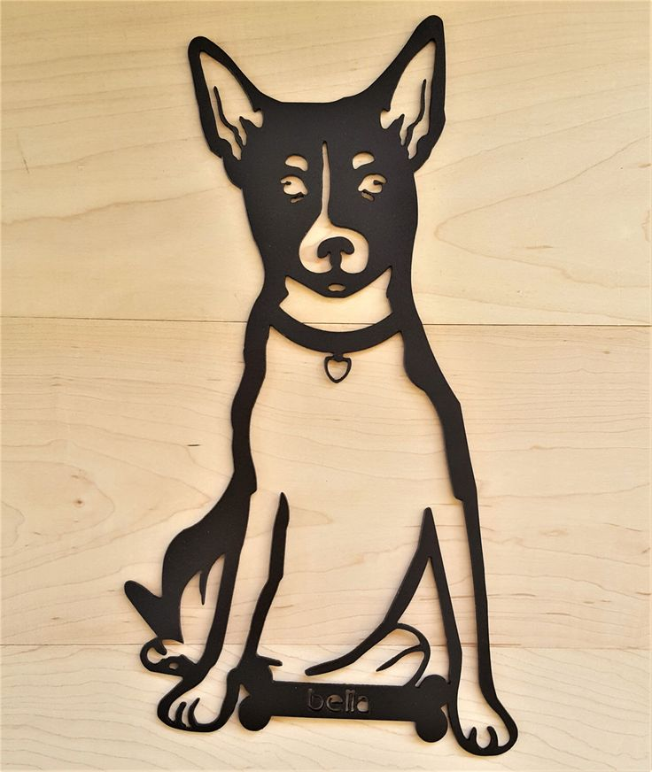 Gepersonaliseerde huisdier hond Rat Terrier Wall Decor opknoping outdoor indoor aangepaste aangepaste Toy Fox geliefde dier dierenarts cadeau pup silhouet kunst door KindredMetalDesign op Etsy https://www.etsy.com/nl/listing/498494010/gepersonaliseerde-huisdier-hond-rat