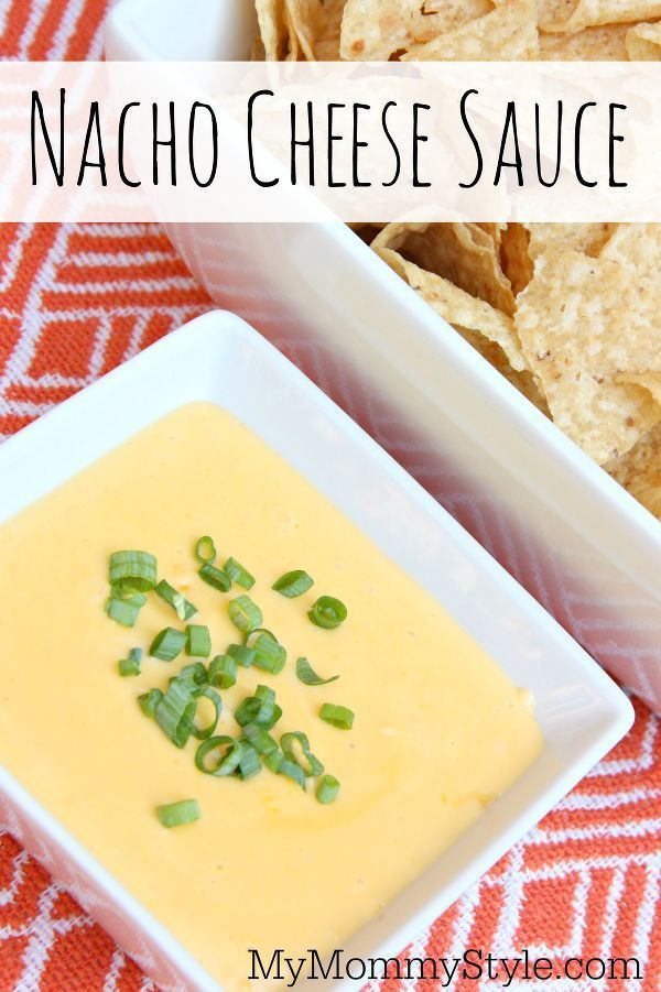 I love making this cheese sauce for nachos instead because it uses real food. homemade nacho cheese sauce: