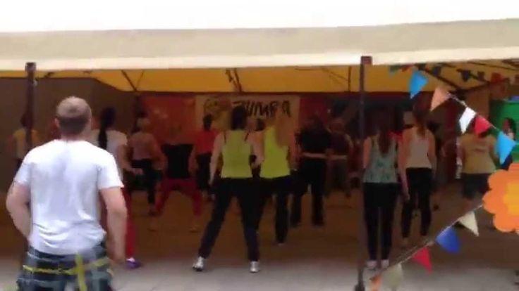 Zumba Fitness Летние вечеринки в парке Челюскинцев МИНСК