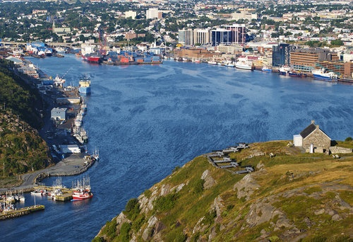 St John's Harbor, Newfoundland