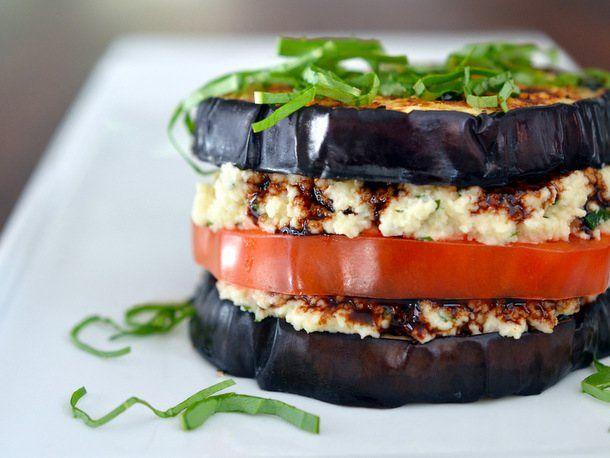 "Eggplant ""Ricotta"" Stacks From 'Nom Nom Paleo' | Serious Eats : Recipes"