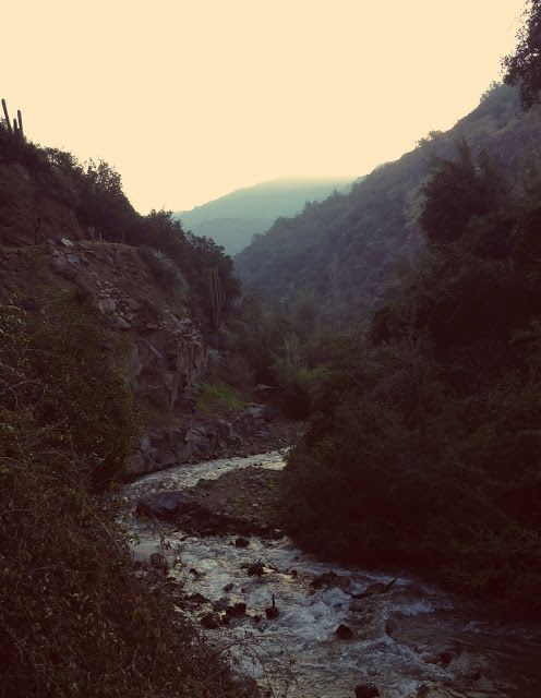 hiking in santiago, chile
