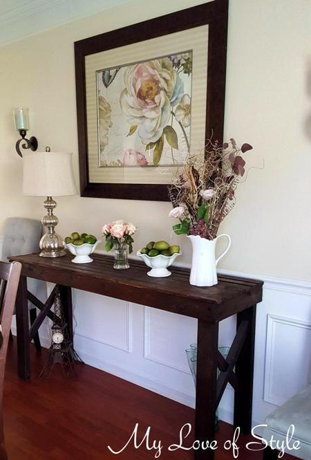 Rustic Furniture Ideas best 25+ rustic sofa tables ideas on pinterest   natural