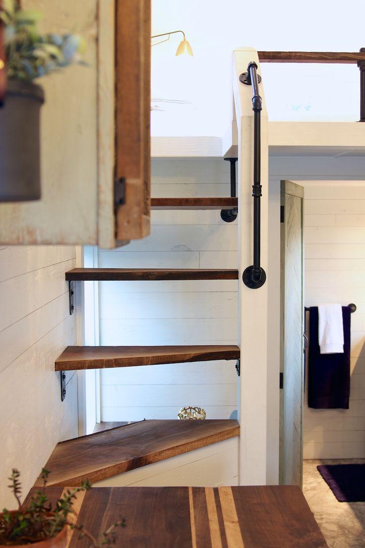 House miniature 1 12 scale bathroom walnut victorian bath tub amp boiler - The Getaway Tiny House Swoon