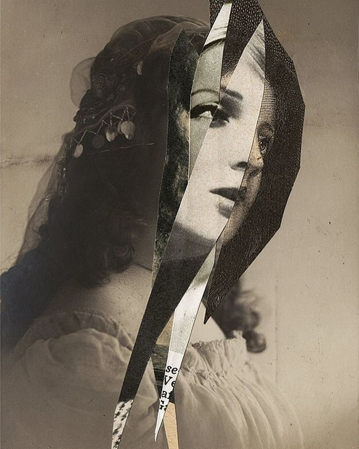 Ecstacy #1 - handmade collage on antique postcard - FOR SALE - €45 EUR. Only original clippings. Worldwide shipping. Get in touch if you're interested #analogcollage #c_expo #collageart #portrait #portraitsofabsence #øjerum #otherness #darkportrait #darkart #absence #surreal #slashedportrait #nonexistence #death #nihilism #unrealism #anxiety #antiquepostcard #ecstacy