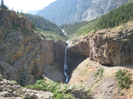 Crypt lake trail in Waterton