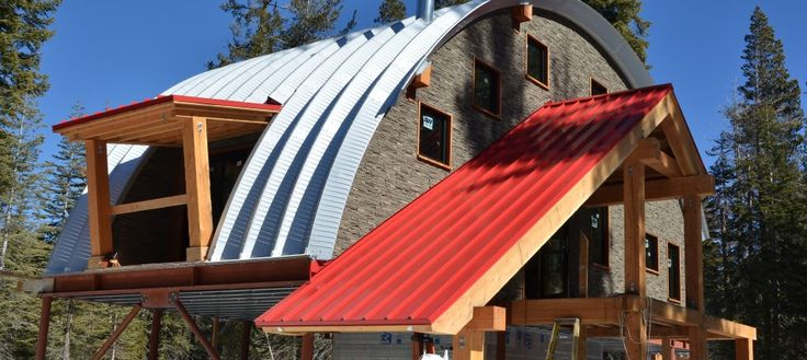 85 best images about quonset hut homes on pinterest for Eco cabin kits