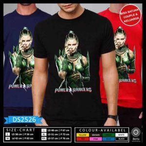 T-Shirt Rita Repulsa  Power Rangers Movie 2017