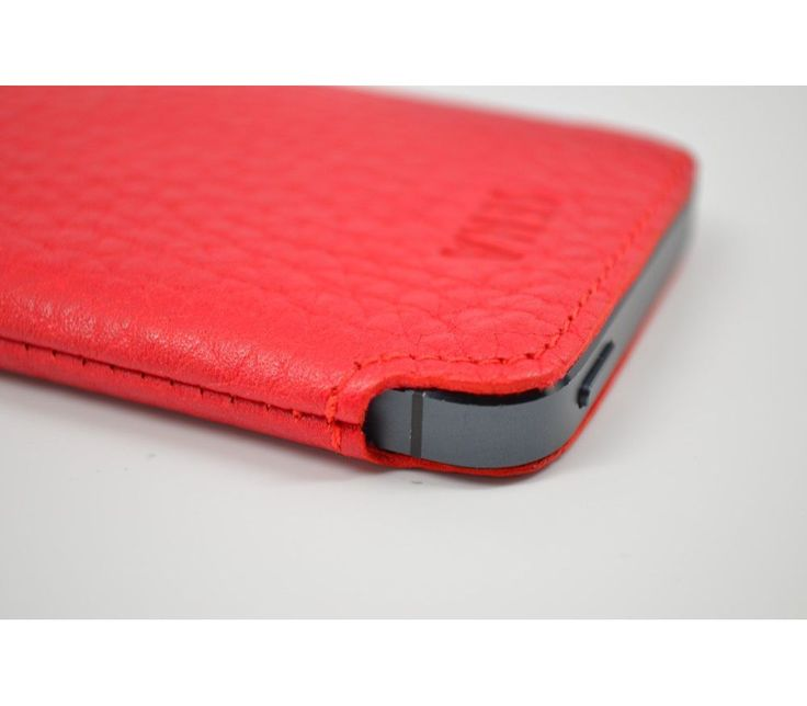 Electronics :: Cell Phones accessory :: For iPhone Accesorry :: Leather Sheath iphone5/5S Sena UltraSlim Pouch-Red