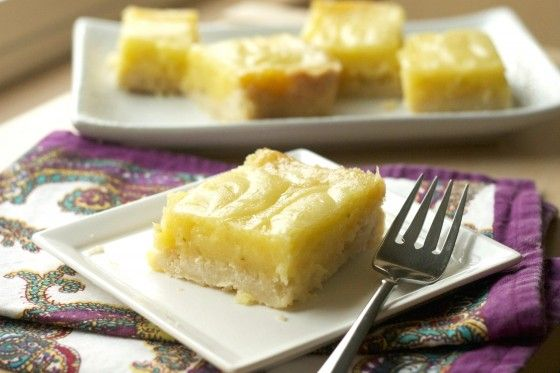 Coconut Lime Bars from @ Country Cleaver
