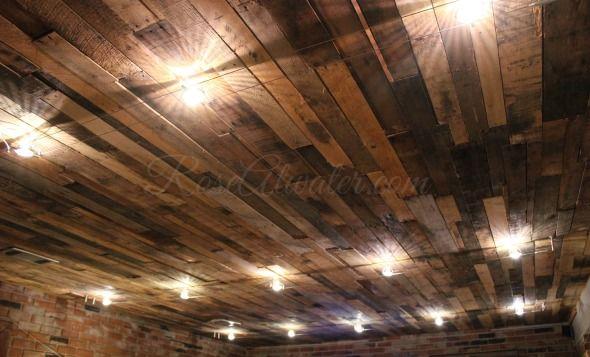 Best 25 Pallet Ceiling Ideas On Pinterest Patio Ceiling