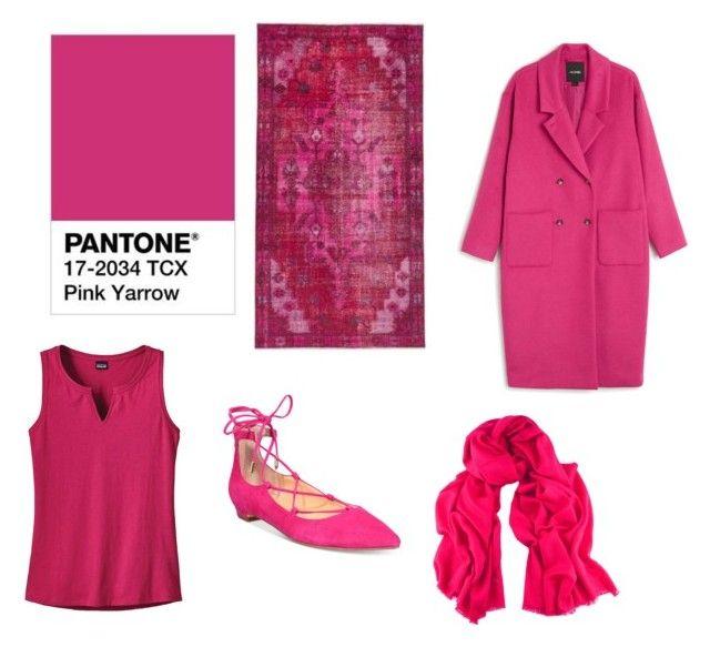 Pink Yarrow by patsythehunter on Polyvore featuring moda, Patagonia, Monki, Ivanka Trump and Black
