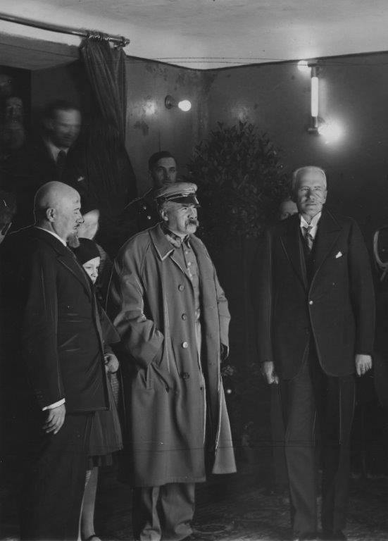 Józef Piłsudski w Kinie Atlantic (1931) #kinoatlantic #pilsudski