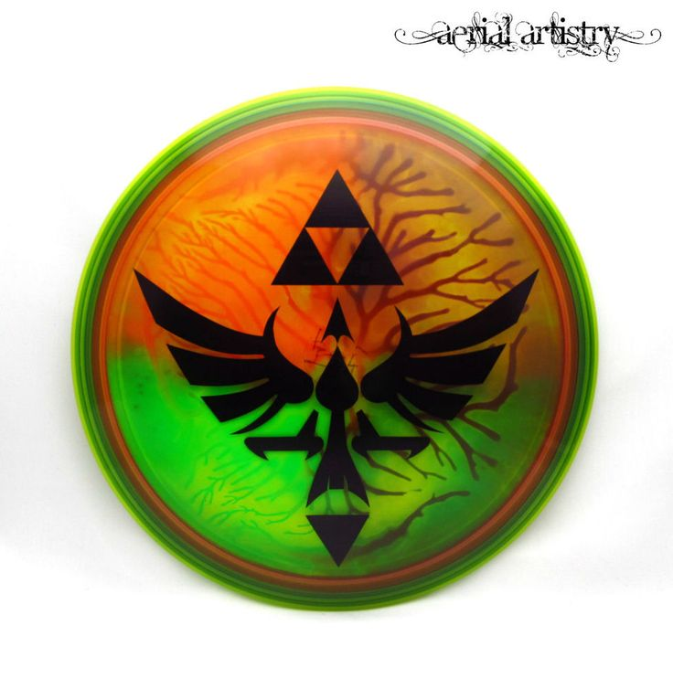 NEW F2 Innova Champion Thunderbird 175g Nintendo Zelda Triforce dye disc golf TH | Sporting Goods, Outdoor Sports, Disc Golf | eBay!