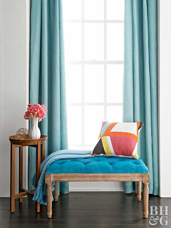 Maintain the quality of your curtains and drapes with these cleaning and care tips.