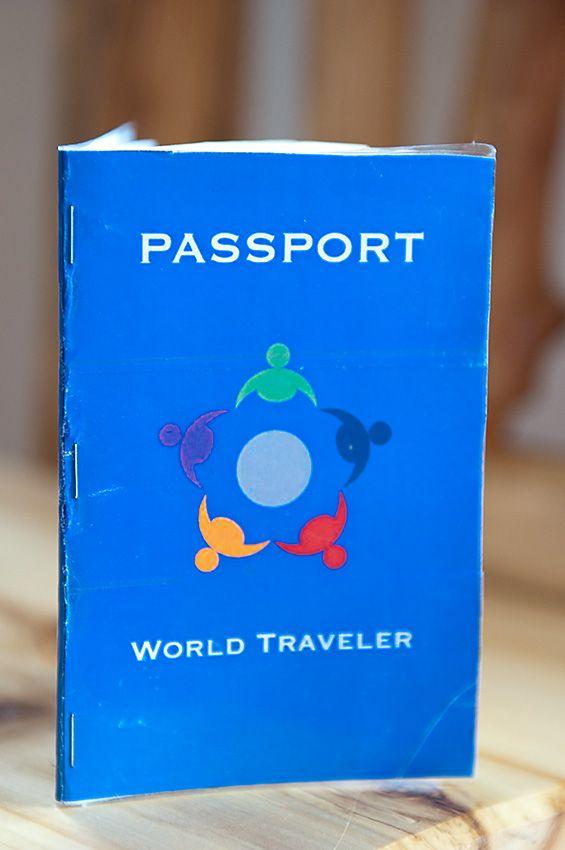 pinterest around the worlds passport and passport template