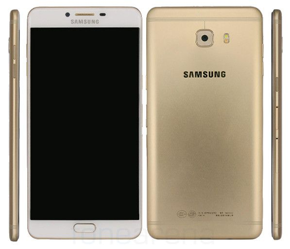 """Samsung Galaxy C9 certificato dal TENAA http://www.sapereweb.it/samsung-galaxy-c9-certificato-dal-tenaa/        Samsung Galaxy C9 Samsung Galaxy C9è stato certificato dalTENAA, che ci rivela design e specifiche del device.  Display da 6"""" AMOLED FullHD SoC Snapdragon 652 octa core GPU Adreno 510 6GB di RAM 64GB di memoria interna espandibile con microSD Android 6.0.1 Marshmallow Dual SIM ..."""