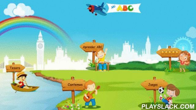 """Kids Learn Spanish ABC Lite  Android App - playslack.com ,  """"Kids Learn Spanish ABC"""" is an App for learning Spanish Alphabets. It teaches alphabets and also helps in building vocabulary in a fun and interactive way.While mainly targeted for preschoolers and kindergarten students, it will also be useful for older kids and even grown up non-Spanish speaking people interested in learning Spanish alphabets.It teaches in an interactive and playful way in different modes:1. A beautiful toy train…"""