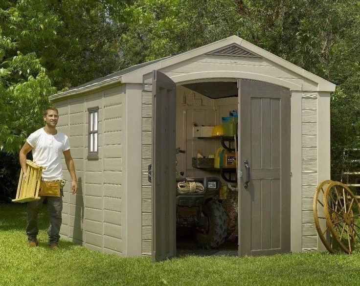 1000 Ideas About Keter Plastic Sheds On Pinterest