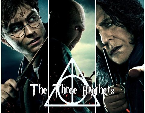 """""""He and Voldemort and Snape, the abandoned boys, had all found home here…""""...wow never realized that...    Voldemort, the oldest, who wanted power to conquer death. Snape, the middle brother, who wanted to be with the love of his life, even after death. And Harry, the youngest, who wanted a peaceful life. The Three Brothers."""