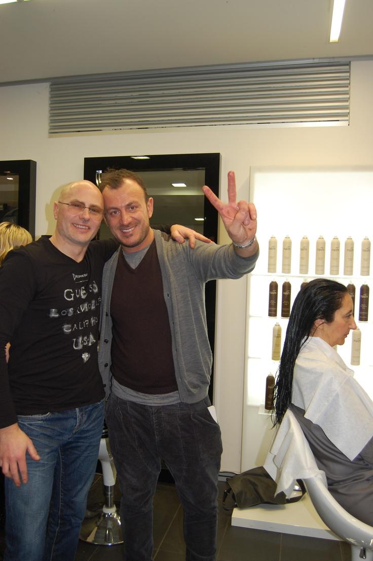 Giuseppe Cavallino and Danilo Foresi Hair Stylists