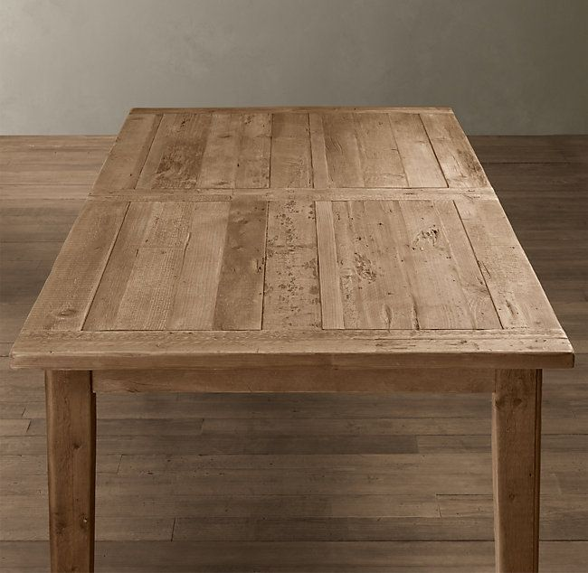 Artur Extending Dining Table In 2019: 1900s Boulangerie Rectangular Extension Dining Table In