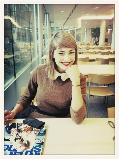 Aude PEPIN #miss_meteo #canal+ #myfirstdiamond #cuteface #bracelet #girly #tv
