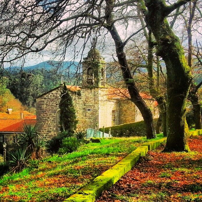 Convent of #Herbon #Padrón #Galicia