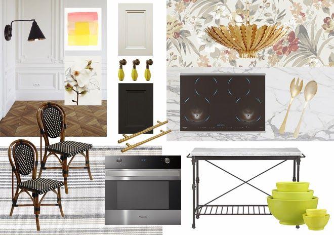 Rambling Renovators: French Kitchen Fantasies & Panasonic Microwave Giveaway