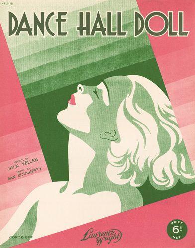 Dance Hall Doll - Anonymous Prints - Easyart.com